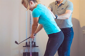Fysio Solutions - Golf fysiotherapie